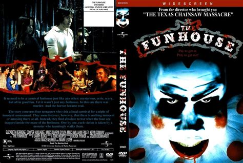 the fun house the funhouse movie dvd scanned covers funhouse the