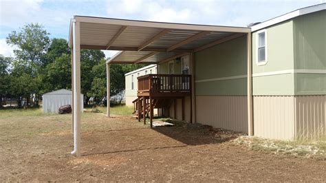 how to attach awning to house front and back awning with carport attached to mobile home