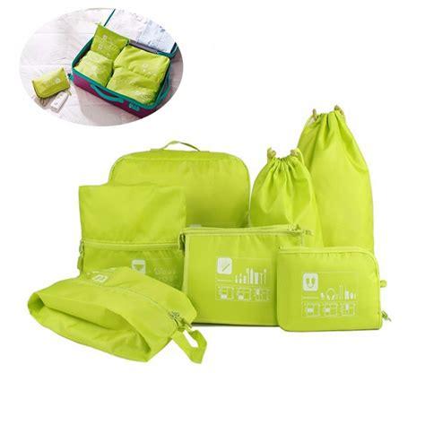 Tas Travel Organizer Bag In Bag 7 In 1 Tas Penyimpana Promo tas travel bag in bag organizer pakaian 7 in 1 blue