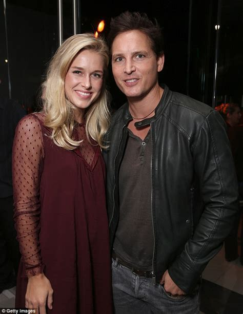 Peter Facinelli brings Lily Anne Harrison on bike ride