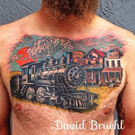 railroad tattoos 23 tattoos on sleeve