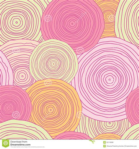 free vector doodle background doodle circle texture seamless pattern background royalty