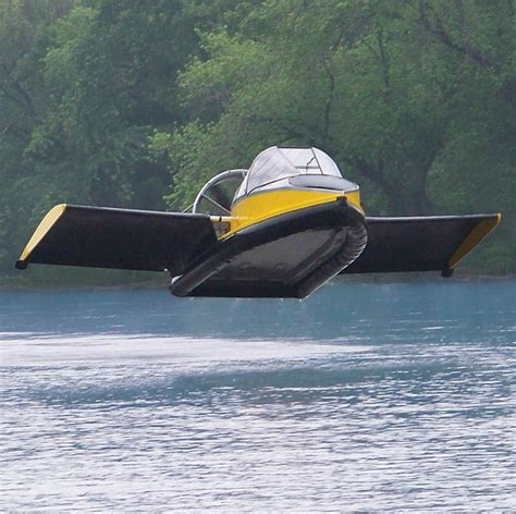 should i buy a boat or plane the flying hovercraft which hits 70 mph and can go 50ft in