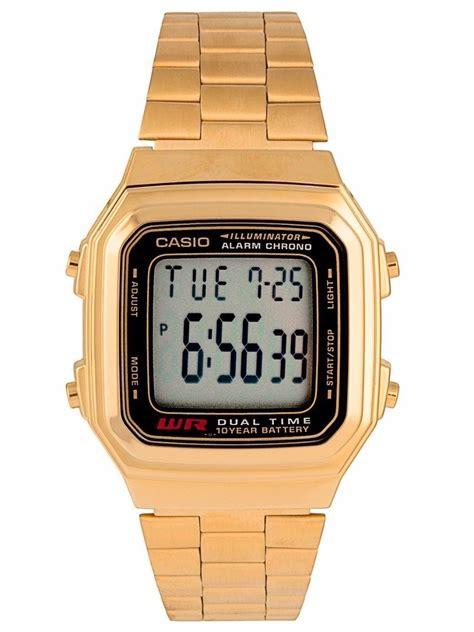 Casio A 178 reloj casio a178 dorado plata 899 00 en mercado libre