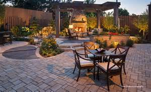 free backyard makeover anchor block company beautiful landscape products made