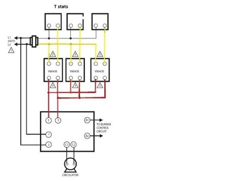 honeywell zone valve wiring diagram wiring diagram for honeywell zone valve readingrat