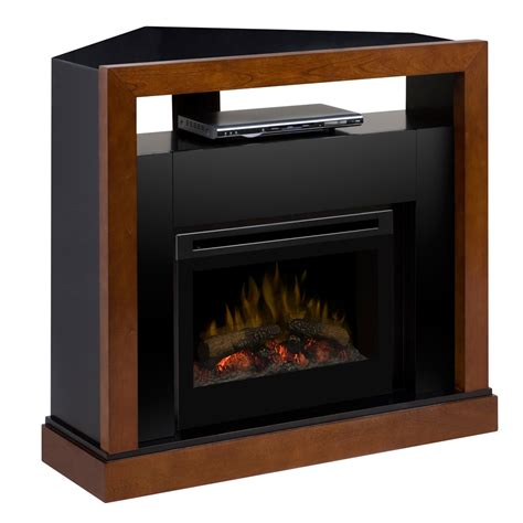 electric fireplace media centers electric fireplace media center w logs gds25 5309wn