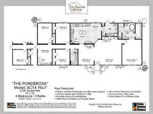 Bonanza House Floor Plan Manufactured Home Floor Plan 2012 Palm Harbor Homes The