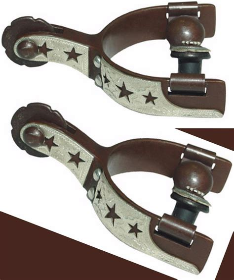 antique bit spur western auction 29 session 2 kelly antique brown steel show western spurs silver star