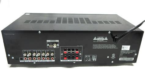Celana Sepeda Str Boxed Black sony 2 channel 270w hi fi stereo receiver w 5 audio inputs remote str dh130 ebay
