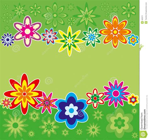 imagen sin fondo para corel fondo con las flores vector imagen de archivo imagen