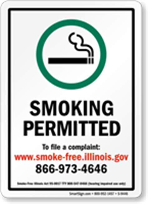 no smoking sign illinois illinois no smoking signs sku s 9446