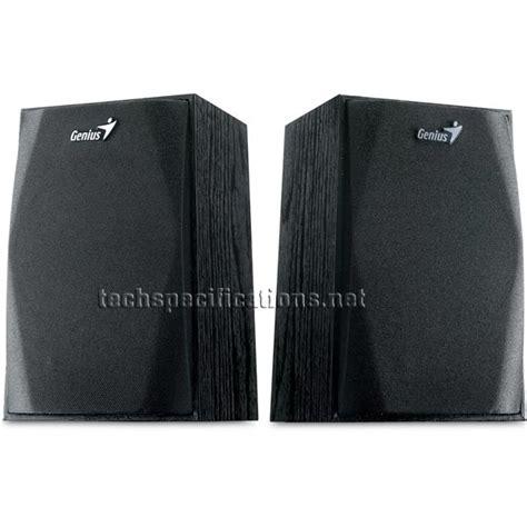 Genius Speaker Sp Hf 150 Stereo genius sp hf150 2 0 pc speakers tech specs