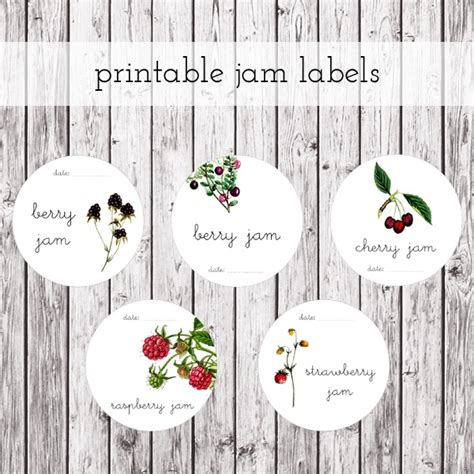 free jam label templates 12 printables for your kitchen pretty free