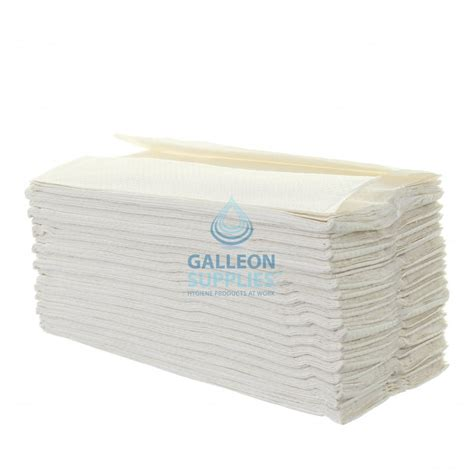 White C Fold Paper Towels - bulk galleon 2 ply white c fold flushable paper