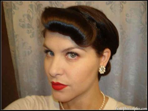 1950 hairstyles for long hair step by step 1950s updos long hair hairstylegalleries com