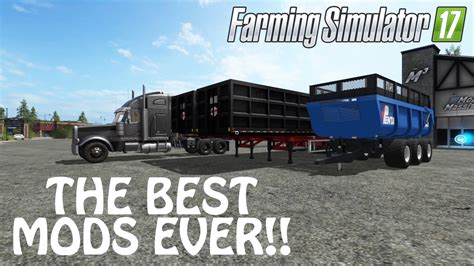 best mod game ever two new mods again in farming simulator 2017 the best