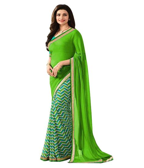 Designer Kitchen Knives rubeez saree designer green chiffon saree snapdeal price