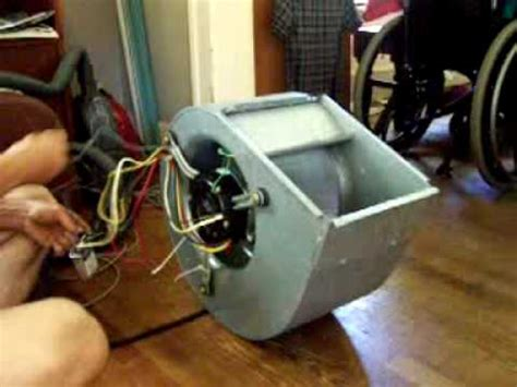 how to make a squirrel cage fan squirrel cage fan youtube