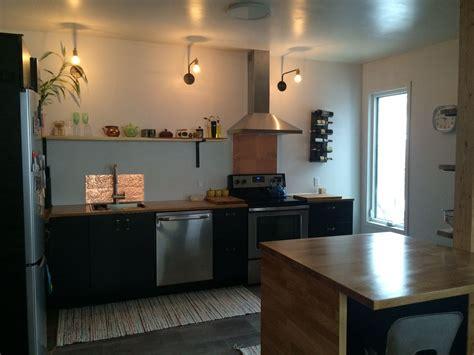 copper  splash ikea tingsryd kitchen cabinets wall