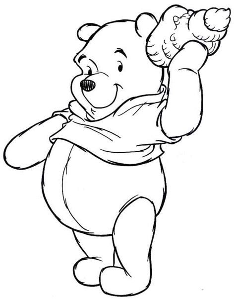 Winnie The Pooh Coloring Book Winnie The Pooh Coloring Book