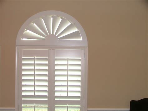 Custom Wood Window Blinds American Blinds Custom Wood Arch Contemporary Venetian