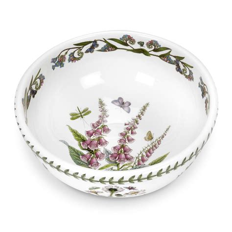 Portmeirion Botanic Garden Salad Bowl Portmeirion Botanic Garden 10 Inch Salad Bowl Portmeirion Uk