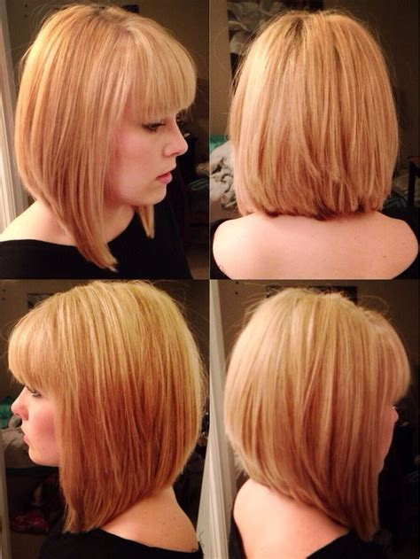 geometric cuts on pinterest haircut styles bob hair 26 attractive bob hairstyles with bangs new hairstyle