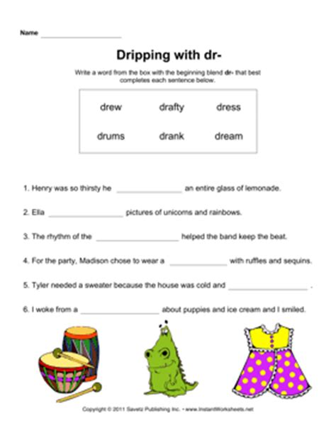 Doctor Worksheets by Dr Sound Phonics