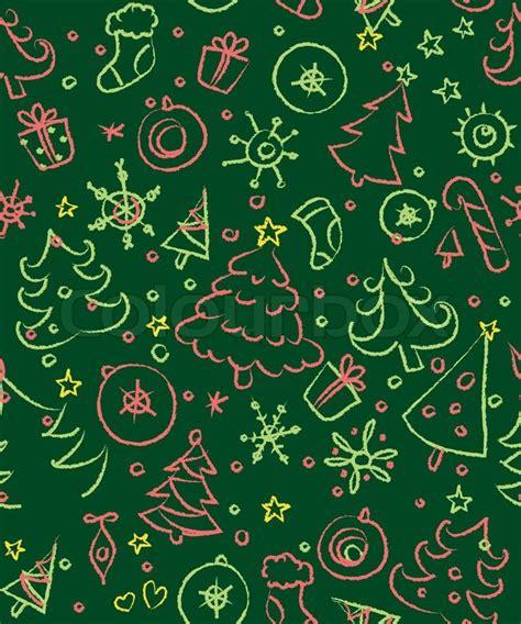seamless pattern wiki christmas seamless pattern stock vector colourbox