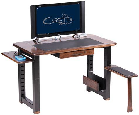 black walnut desk loft desk black walnut caretta workspace