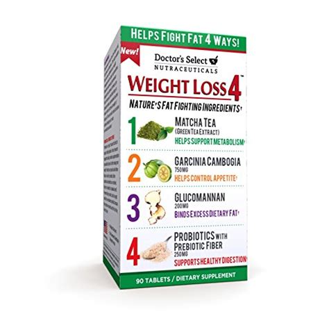 weight loss 4 doctor s select weight loss 4 tablets 90 count