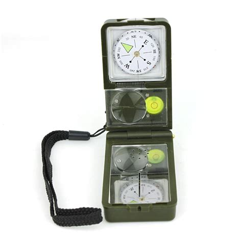 Multifunction 10 In 1 Portable Compass T1310 4 t10 portable multi function navigation compass with thermometer and hygrometer 10 in 1 outdoor