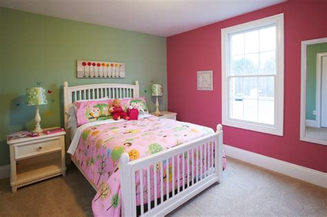 paint bedroom walls different colors for gilrs photo