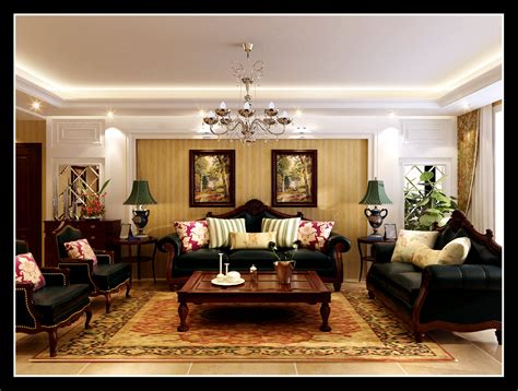 royal living room luxurious living room with royal furniture 3d model max