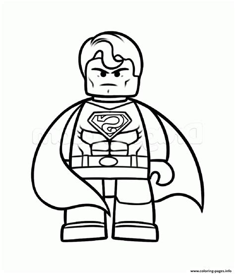 lego coloring pages printable superman vs batman lego coloring pages printable