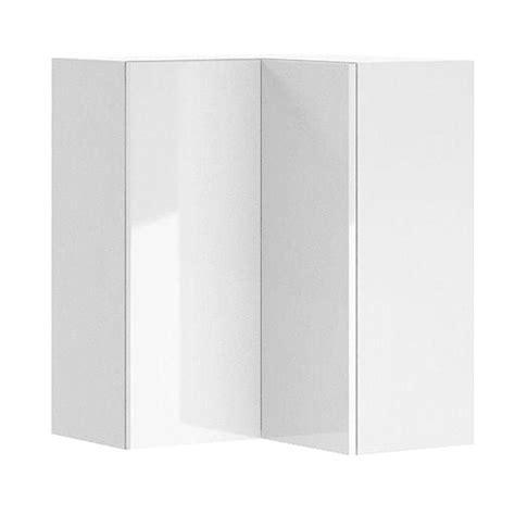 white melamine cabinet doors eurostyle ready to assemble 24x30x24 in valencia corner wall cabinet in white melamine and door