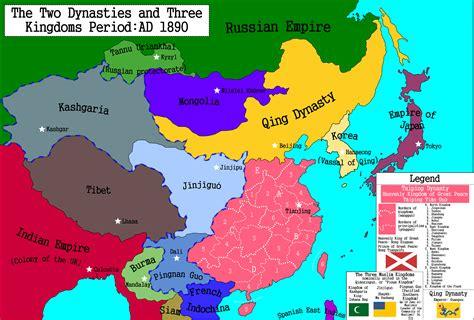 three kingdoms two dynasties by porphyrogenitos on deviantart