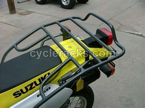 Rear Motorcycle Rack by Suzuki Dr650 Rear Motorcycle Rack Ebay