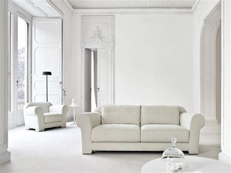 white livingroom white living room modern house