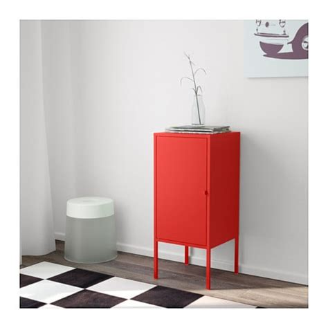 ikea lixhult lixhult cabinet metal red 35x60 cm ikea