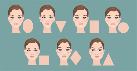 types of hair for types of faces shapes the best eyeglasses for your face shape and skin tone
