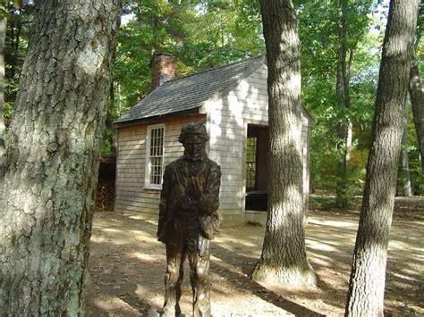 Walden Pond Thoreau Cabin by Thoreau S Cabin At Walden Pond 1845 47 Boston2014ideas