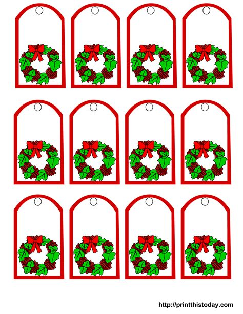 printable gift labels christmas free printable christmas gift tags