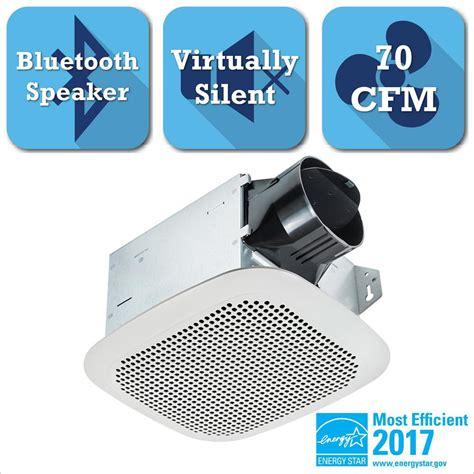 bathroom exhaust fan with bluetooth delta breez integrity series 70 cfm ceiling bathroom