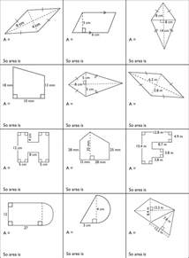 area of composite shapes worksheet davezan