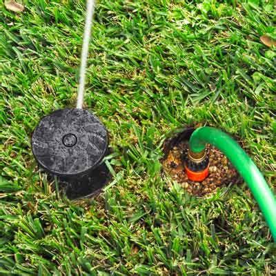 ground hose sprinkler security sistems