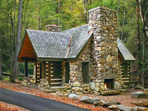 Small Cabin Design | small stone cabin plans small stone house plans mountain