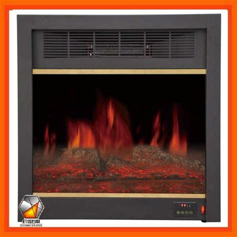 220v Electric Fireplace by Built In Electric Fireplace Insert With Remote