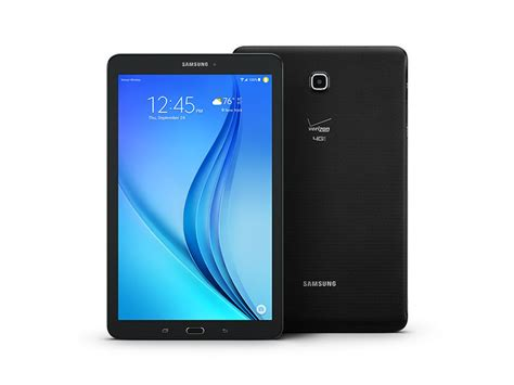 galaxy tab e 9 6 quot 16gb verizon tablets sm t567vzkavzw samsung us